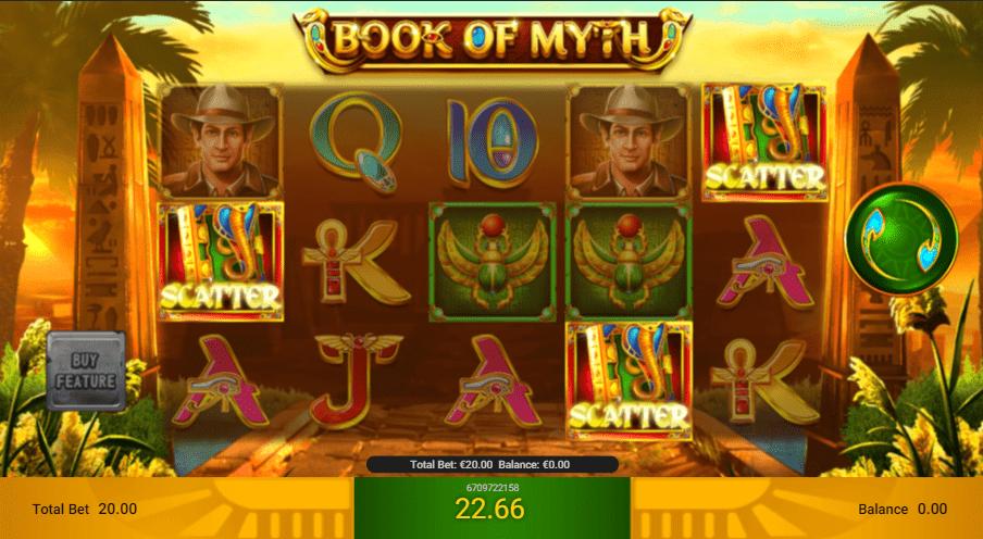 เกมสล็อต Book of Myth